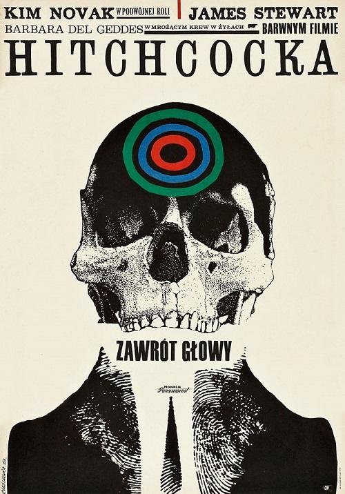 Afiche polaco - Hitchcock