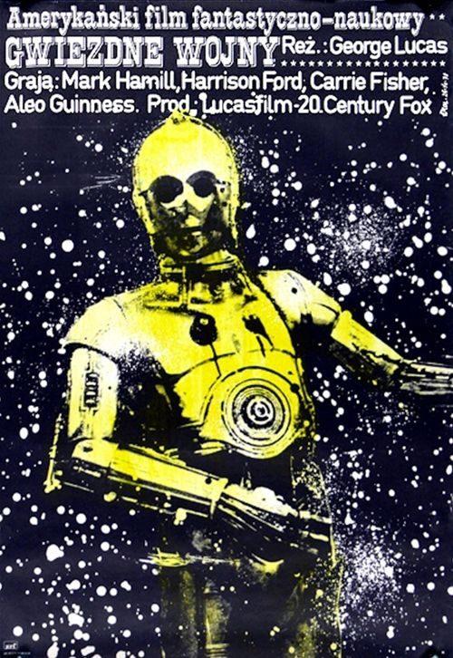 Afiche polaco - Star Wars