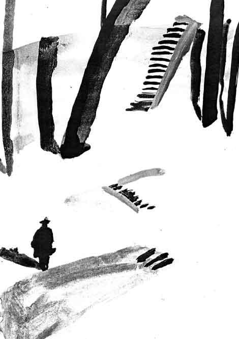 Dibujo - Rachel Gannon - Mystery spot
