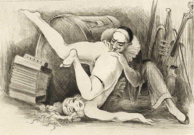 Dibujo erótico interesante