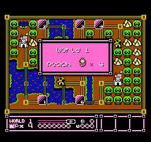 NES Rom hack - Peach and Daisy