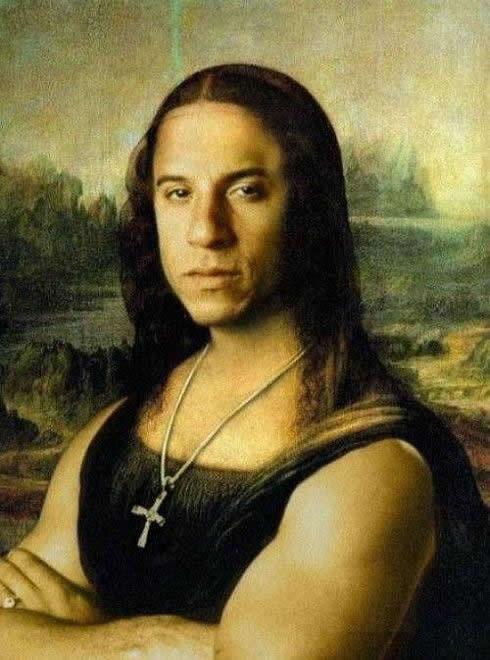 La Gioconda Vin Diesel